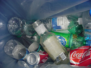 Cans and Plastic Bottles